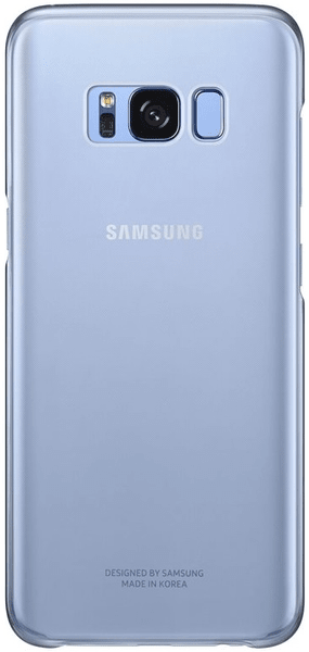 Samsung Ochranný kryt Clear Cover (Samsung Galaxy S8 Plus), modrá