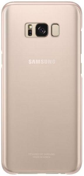 Samsung Ochranný kryt Clear Cover (Samsung Galaxy S8 Plus), růžová