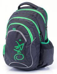 Karton P+P Anatomiczny plecak OXY Fashion Green