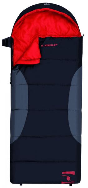 Loap Salido spací pytel dekový Black/Shadow