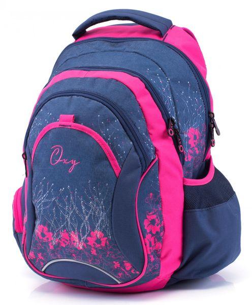Karton P+P Anatomický batoh OXY Fashion Pink Flowers