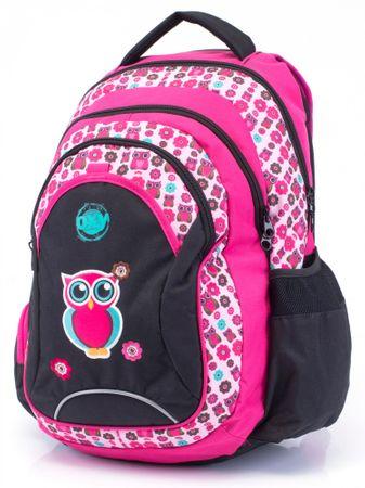 Karton P+P Anatomický batoh OXY Fashion Pink Owl 2017