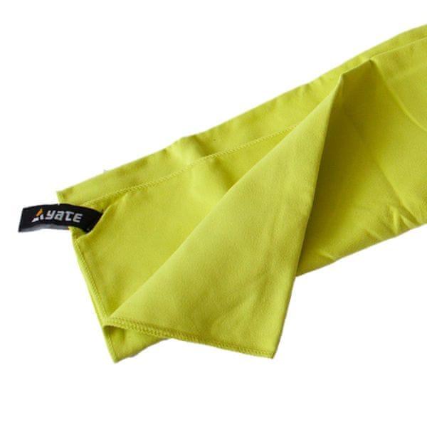 Yate Rychleschnoucí ručník zelená L