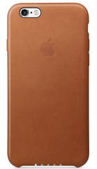 Apple usnjen ovitek za iPhone 6s Plus, Saddle Brown