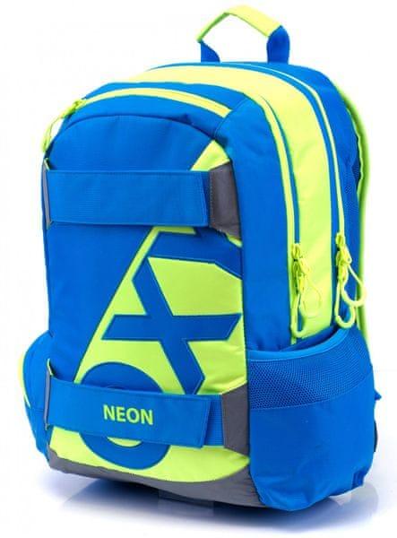 Karton P+P Anatomický batoh OXY SPORT Neon Blue