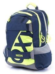 Karton P+P Anatomický batoh OXY SPORT Neon Dark Blue