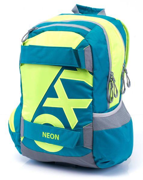 Karton P+P Anatomický batoh OXY SPORT Neon Green
