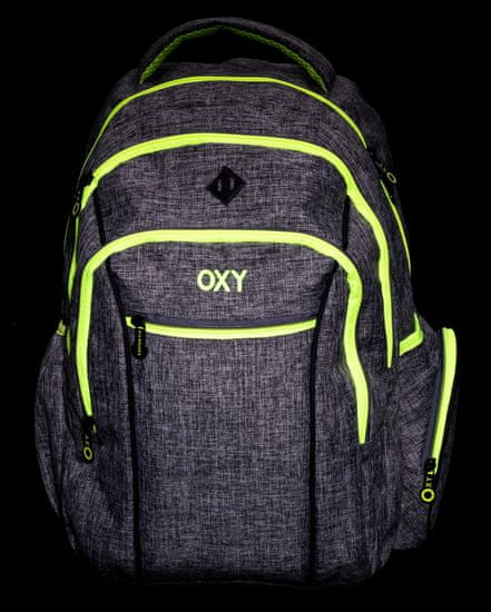 Karton P+P anatomski nahrbtnik OXY TWO Grey, siv