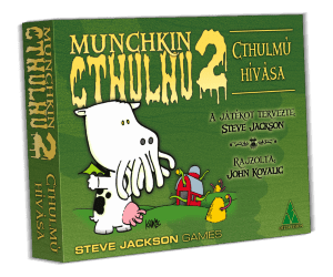 Delta Vision Munchkin Cthulhu 2 Cthulmú hívása Társasjáték