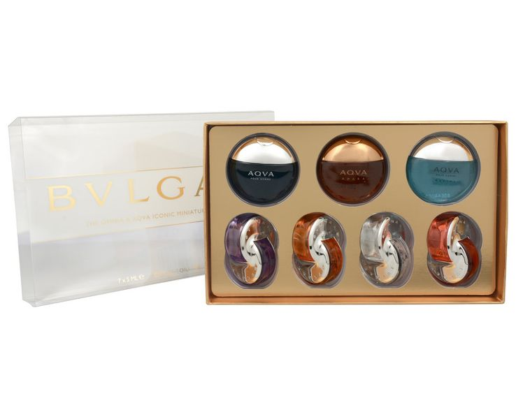 Bvlgari Miniatury - kolekce od značky Bvlgari Women a Men 35 ml