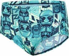 Speedo Allover 12cm Brief Navy/Jade/Green Glow