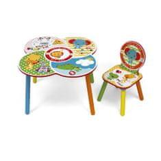 Fisher-Price Asztal + Szék szett