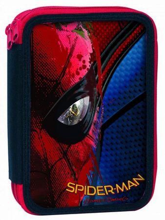GIM Školní dvoupatrový penál Spiderman Movie – plněný