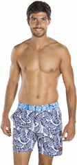 Speedo Vintage Printed 16 Watershorts Navy/White