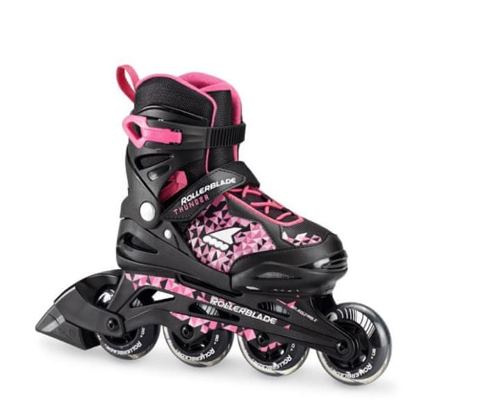Rollerblade Thunder G black/pink 33-36,5