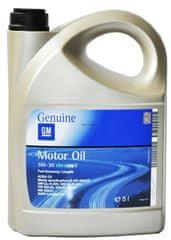 General motorno olje GM - Opel Dexos 2 5W-30, 5 L
