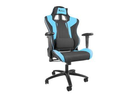 Genesis Gaming gamerski stol SX77, črno-moder
