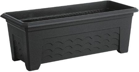 Emsa donica TERRA GRANDE, 60x30 cm, ciemnoszara