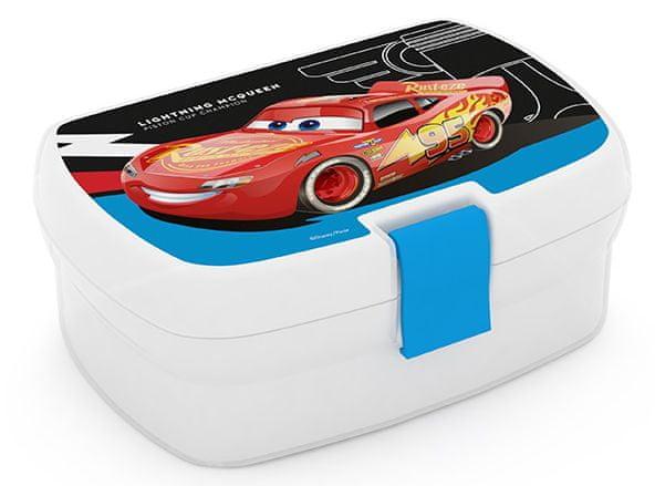 Karton P+P Box na svačinu Cars