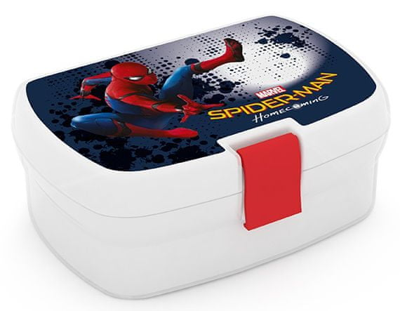 Karton P+P Box na svačinu Spiderman