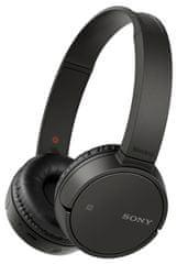 Sony brezžične slušalke MDR-ZX220BT črne - odprta embalaža