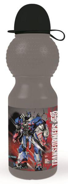 Karton P+P Láhev na pití malá Transformers
