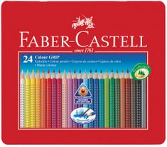 Faber Castell GRIP barvice Grip 24/1, kovinska embalaža