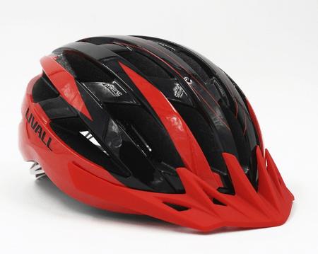 Livall pametna MTB kolesarska čelada MT1 črno/rdeča, M