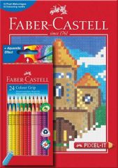 Faber Castell GRIP barvice Grip 24/1 + pobarvanka