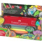 Faber Castell GRIP barvice Jumbo Grip 5+5, kovinska peresnica