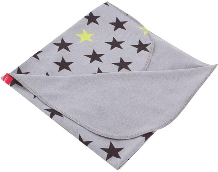 BeeMy Letní deka GREY STARS