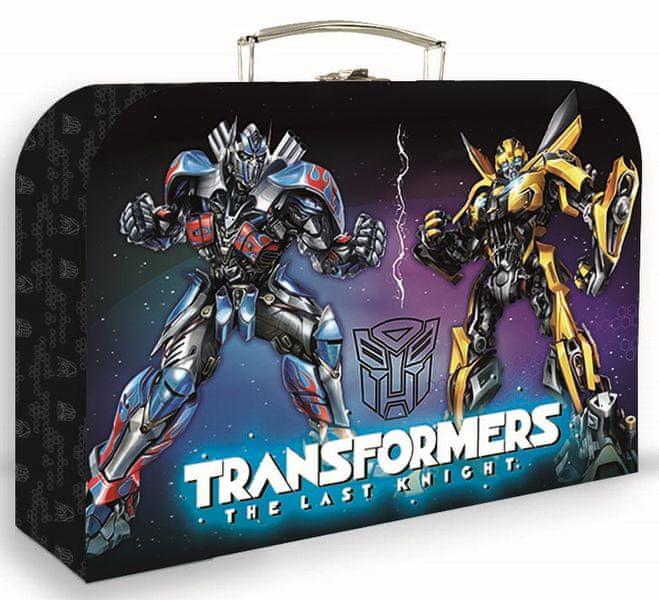Karton P+P Kufřík lamino Transformers