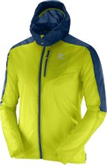 Salomon Fast Wing Hoodie M Lime Punch
