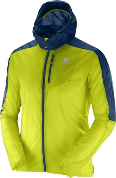 Salomon Fast Wing Hoodie M Lime Punch XL