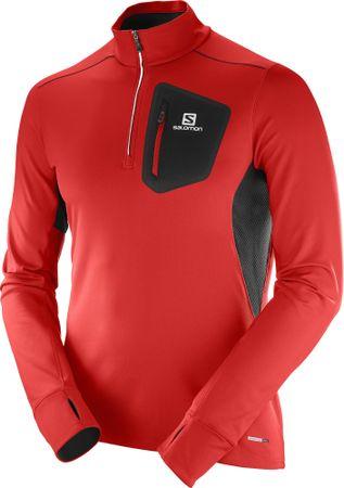 Salomon jakna Trail Runner, rdeča, XL