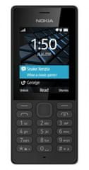 Nokia GSM telefon 150 Dual Sim, črn