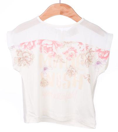 Primigi T-shirt dziewczęcy 98 kremowy