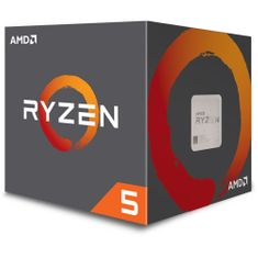 AMD procesor Ryzen 5 1400 s hladilnikom Wraith Spire 65W (YD1400BBAEBOX)