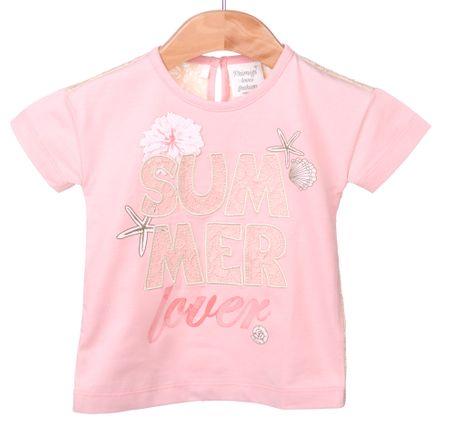 Primigi dekliška majica 74 roza