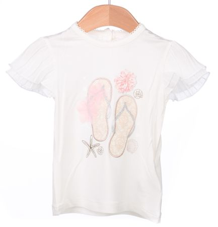 Primigi dekliška majica 86 smetane