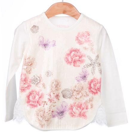 Primigi dekliška majica 104 smetane