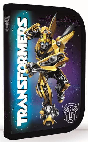 Karton P+P Školní penál 1 patrový Transformers
