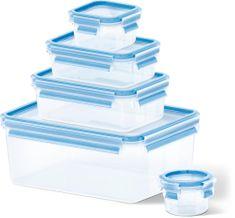 TEFAL Master Seal Fresh Négyszögletes dobozok, 5db