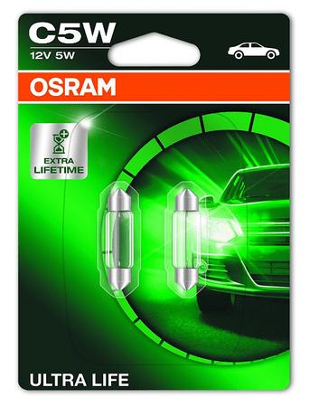 Osram žarnica 12V 5W Ultralife C5W