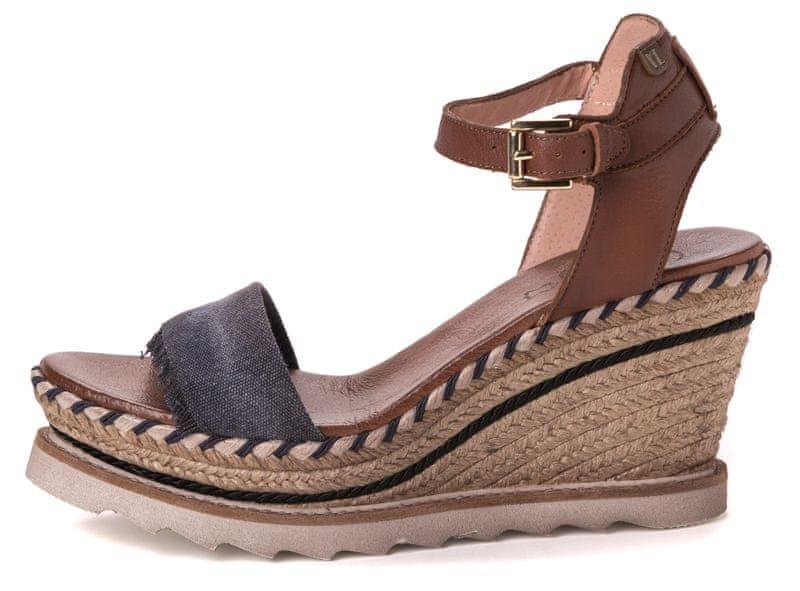 VITTI LOVE dámské sandály 41 hnědá