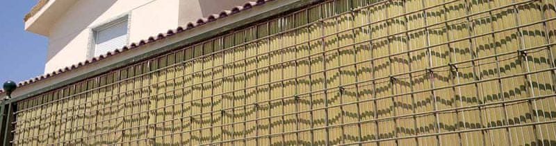 TENAX SPA umělý rákos NILO PLUS 1,5m x 3m, přírodní barva