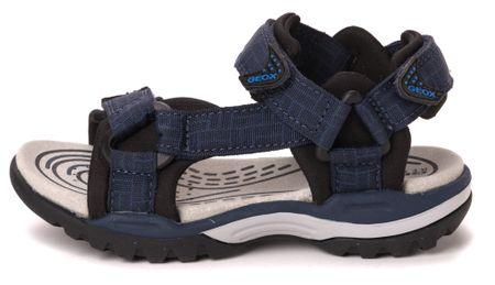 Geox chlapecké sandály Borealis 39 modrá