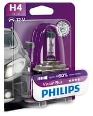Philips VisionPlus H4, 12 V, 60/55 W, 1 ks