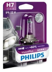 Philips VisionPlus H7, 12 V, 55 W, 1 ks