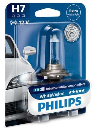Philips Żarówka samochodowa WhiteVision H7, 12 V, 55 W (1 szt.)